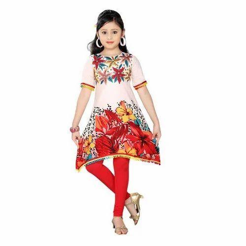 acb6f4d400917 Multicolor Kids Dress Printed Kids Kurti, Rs 700 /piece, Cherry Plus ...