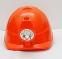 Helmet with Head Lamp