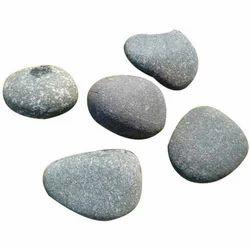 Half White Natural Pebble Stone