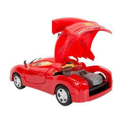 Red Antiterrorism Car With Light Music
