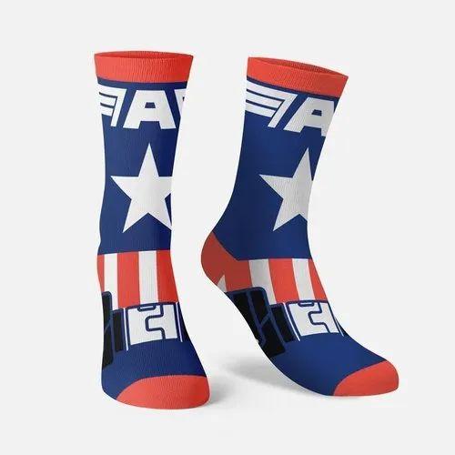 Official Captain America Socks