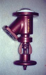 PFA Lined Flush Bottom Valve