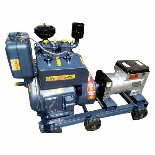 Diesel Engine Generator Set 15 Kva 20 Hp