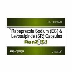 Rabeprazole 20 mg & Levosulpride 75 mg Capsules