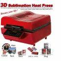 Sublimation printing machine (3D Sublimation Heat Press)