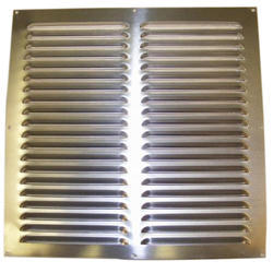 Polished Aluminum Air Vent Grill, For Industrial