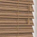 Pvc Brown Wooden Venetian Blinds, Size: 6 X 5 Feet