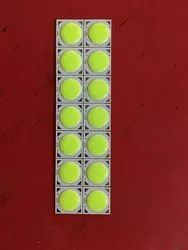 5W COB LED Green Chip