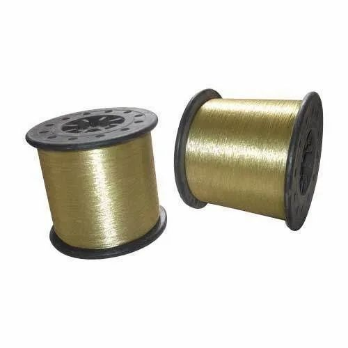 12 Micron Metalized Polyester Zari Thread