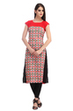 Cottinfab Women's Casual Printed Kurti