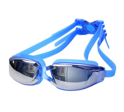 Blue Anti Fog Swimming Goggle