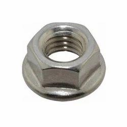 Flange Hex Nut, Size: 20 Mm