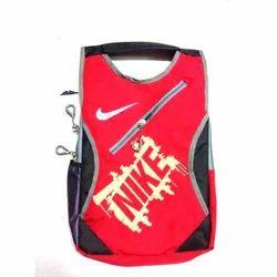 Red And Black Shoulder Backpack Bag