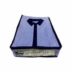 Plain Plastic Shirt Bag, For Shirts