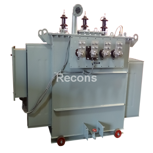 Three Phase High Tension Control Transformer