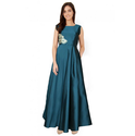 Designer Sea Green Gown