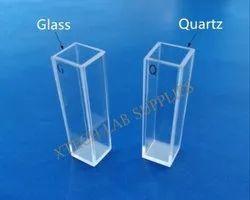 Fluorometer Quartz/Glass Cuvette
