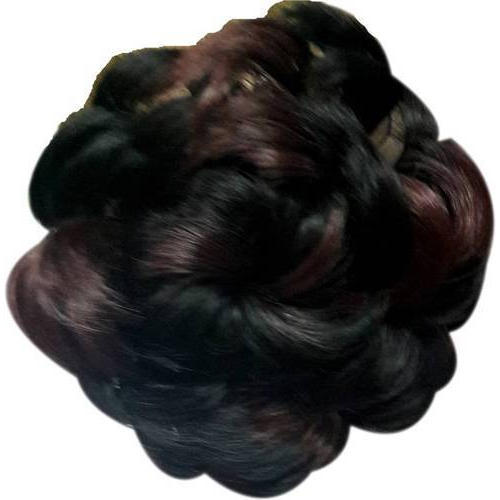 Synthetic Hair Blossom Bun Styling Volumiser Hair Extension For Personal Rs 249 Piece Id 20037879112