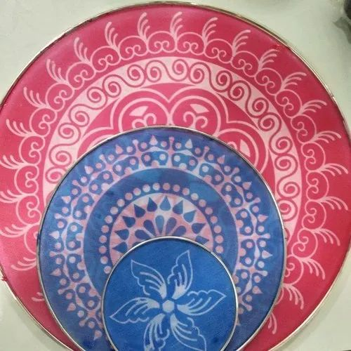 Round Shape Decorative Rangoli Jali Stencils, For Home
