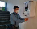Automatic Mist Based Sanitizer Dispensing Machine