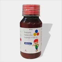 Paracetamole Paedeatric Oral Suspension I.P 250mg