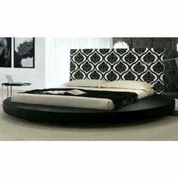 Black Design Wooden Bed