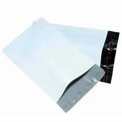 Euphoria Black,White Plastic Courier Envelopes, Thickness: 50 Micron