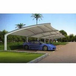 Tensile Membrane Car Parking Structure