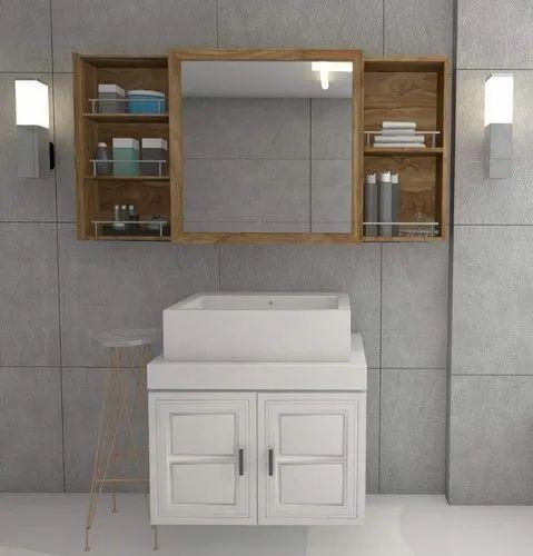 Ceramic Wall Mounted Bathroom Cabinet, Wall Hanging Bathroom Cabinets