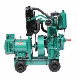 7.5 kVA Prakash Single Phase Water Cooled Generator