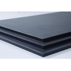 Dark Grey PVC Sheets, Thickness(mm): 4-5 & 3-4, Size: 4 X 8 ft