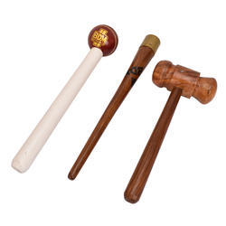 BDM Cricket Ball Mallet , Hammer & Gripping Cone