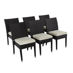 Outdoor Wicker Cafe Chair