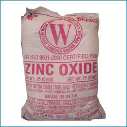 White Zinc Oxide For Industrial, 25 Kg