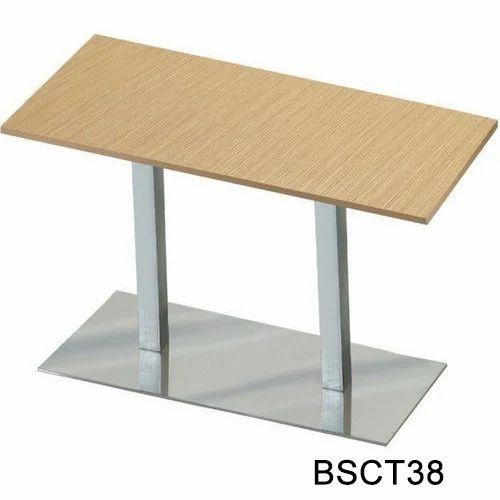 wooden cafe table steel tables big furniture kolkata id