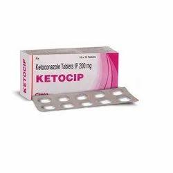 Ketoconazole (200 Mg) Ketocip Tablet
