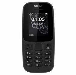 Nokia Mobile Phone 105 (Dual SIM, Black)