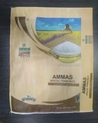 Printed Rice Packaging Bag