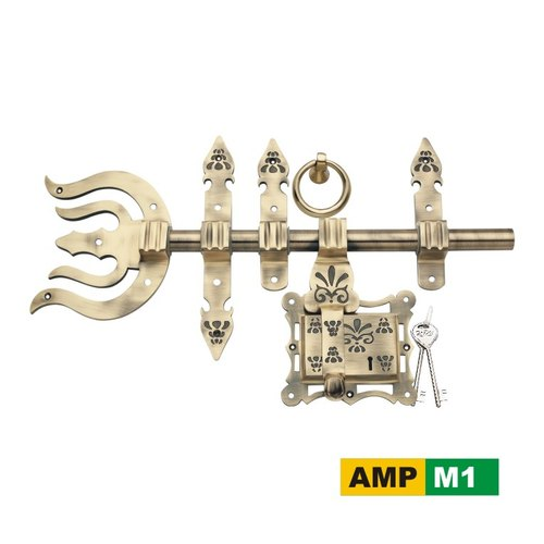 AMPS Brass AMP M1 Manichitram Lock