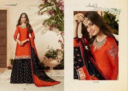 Gorgeous Sharara Suit Rani Exports Kohinoor Vol-10