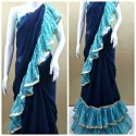 Treandy Ruffel Design Saree