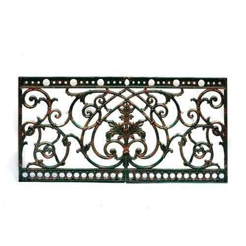 Decorative Iron Grill