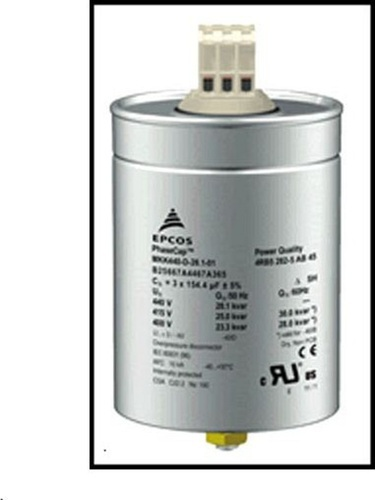 Epcos 3 Phase Mkk Gas Filled Heavy Duty Power Capacitor At Rs 178 Unit Epcos Capacitors Distributors In Chennai Ps Power Controls Chennai Id 19363465791