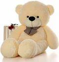 Cotton Fur 3 Feet Cream Teddy Bear, For Home, 900g