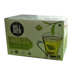 Hill Brew Green Dip Tea Bag, Packaging Type: Box