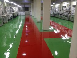 High Gloss Self Leveling Epoxy Flooring