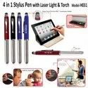 4 In 1 Stylus Pen with Laser Light and Touch