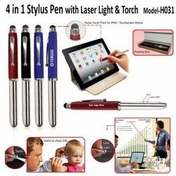 Blue 4 In 1 Stylus Pens