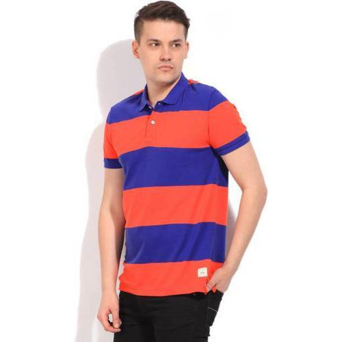 9a0a51aa8f Cotton Mens Striped T Shirt, Rs 300 /piece, Selvanayagi Apparels ...