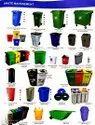 Steel & Plastic Dustbins (Housekeeping Goods)